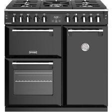 Stoves Richmond S900DF Black 90cm Dual Fuel Range Cooker Made In U.K 444444435