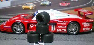1/32 URETHANE SLOT CAR TIRES 2pr PGT-20128 fits SCALEXTRIC Maserati MC12