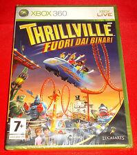 THRILLVILLE FUORI DAI BINARI XBOX 360 Versione Italiana 1ª Edizione ○ NUOVO