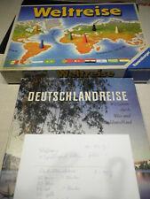Deutschlandreise +Weltreise/ 2 alte Spiele von Ravensburger