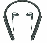 Sony WI-1000X Wireless Noise-Canceling Headphones Around Neck Black - Fast Ship!