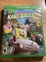 Nickelodeon Kart Racers Xbox One [Brand New / Sealed] Spongebob Patrick