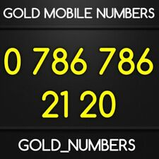EASY 786 GOLD MOBILE 786786 NUMBER 786 786 VIP NUMBER 07867862120