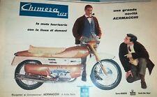 MOTO AERMACCHI CHIMERA 125 -VECCHIA PUBBLICITA'-ADVERT-ADVERTIS