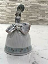 "Vintage Lladro Figurine ""Sounds of Spring Bell"" #5956 Retired 2002 ""Rare"""