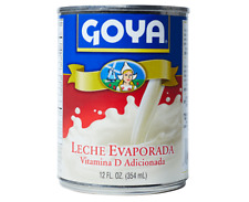 (4) cans of Goya Evaporated Milk 12 oz each can