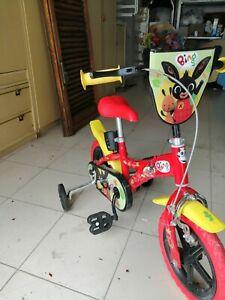 Dino Bikes 14 Bing Il Coniglio Bicicletta per Bambini (2-3 anni) - Rossa