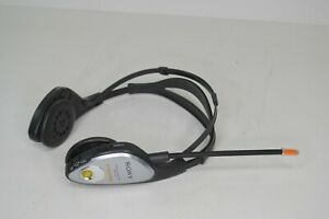 Vintage Sony Walkman SRF-H4 AM/FM Mega Bass Headphones No Earpads TESTED!