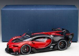 Bugatti Vision Gran Turismo (Italian Red/Black Carbon) 2015 - 1:18 AUTOART