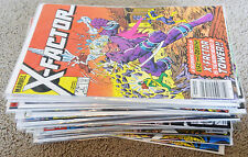 X-Factor (Vol 1) Marvel Comics 1986-94  Lot of 38 Most in VF-NM Condition