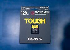 Sony 128gb Uhs-ii Tough SD Card R300 W299