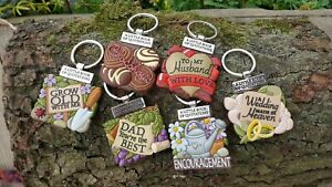 History & Heraldry A Little Book Of Quotations keyring Wedding/Chocoholic/Dad
