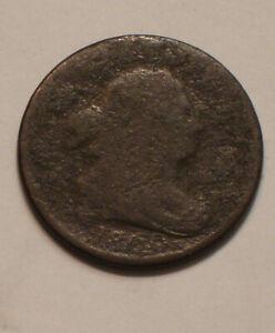 1800 Draped Bust Half Cent well worn