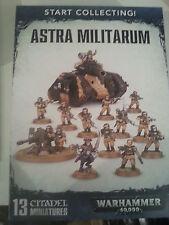 Warhammer 40k Start collecting Astra Militarum Box Set-New & Sealed