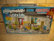 Playmobil 5953 Mitnehm - Krankenhaus , Kranke, Rollstuhl, Arzt, Praxis, Hospital