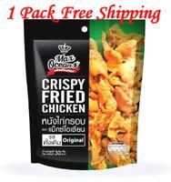 Crispy Chicken Skin Max Oceans Original Flavor Snack Camping Party Delicious