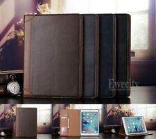 Folio Wallet Leather Stand Smart Auto Sleep/Wake Case Cover For iPad Model