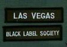 BLACK LABEL SOCIETY LAS VEGAS BLS FAN CLUB PATCH SET