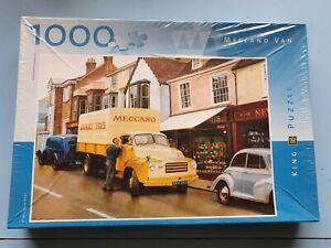 1000 Piece Meccano Van Jigsaw