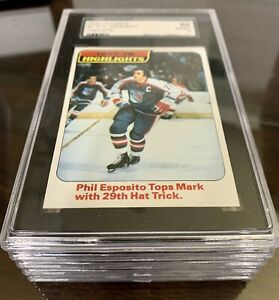 1978-79 Topps Hockey - All SGC Graded YOU PICK Player