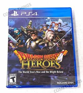 NEW PS4 Playstation 4 game Dragon Quest Heroes The World Trees