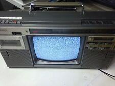 Panasonic tr 1200  vintage rare Boombox Tv  Radio  Cassette