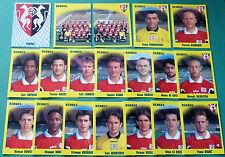 PANINI FOOTBALL FOOT 98 STADE RENNAIS COMPLET RENNES ROAZHON BREIZH 1998