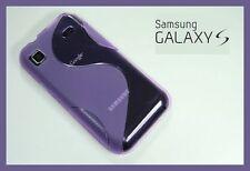 Schutzhülle für Samsung Galaxy S i9000 Hülle LiLa + Folie Schutzfolie S1