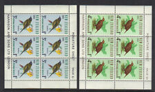 NEW ZEALAND BIRDS 1966 HEALTH MINI SHEETS Unmounted Mint MNH SGMS841 RE: PA43a