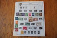 M64 Lot of Israel Stamps on 5 Minkus binder Pages
