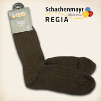 "3 Paar Regia Gr. 40/41 ""Fertigsocken"" Mocca Schachenmayr Sockenwolle Socken"