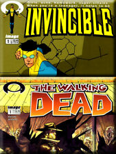 INVINCIBLE #1 CGC 9.8 AND WALKING DEAD #1 CGC 9.8 - KIRKMAN - MUST SEE!