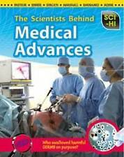 The Scientists Behind Medical Advances  BOOK NEW
