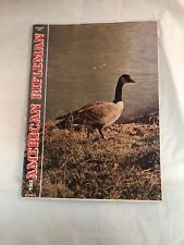 American Rifleman Magazine Back Issue 1967 January Canada Goose Front Cover