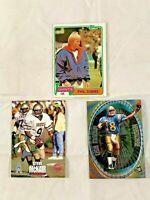 1981 Topps Phil Simms #55 & 1995 Classic Steve McNair #3 & 1999 Cade McNown #HW1