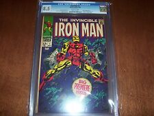 Iron Man #1 CGC 8.5 OW Pages 1968 Origin of Iron Man Retold
