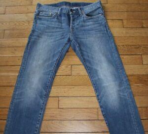 H&M Jeans pour Homme W 30 - L 32 Taille Fr 40  Slim (Réf # O029)