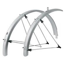 Parafanghi universali marca SKS per biciclette argento