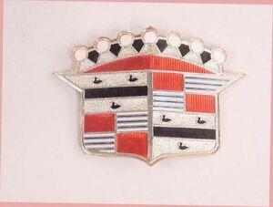 1954-1955 Cadillac Hood Crest Emblem