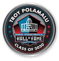 TROY POLAMALU HALL OF FAME CLASS OF 2020 PIN PITTSBURGH STEELERS PATCH IN STORE!