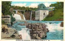 Keeseville,New York,Ausaable Chasm & Horseshoe Falls,Adirondacks,Used,19 30