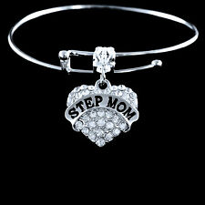 Step mom Bracelet step mother bangle Stepmom bracelet Stepmother bangle gift