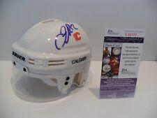 Jarome Iginla Autographed Signed Calgary Flames Helmet JSA COA NICE #12 Helmet