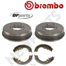 Fits Toyota Tacoma 4WD Set of Rear 6 Lug Brake Drum & Shoe 40551051/S83559N