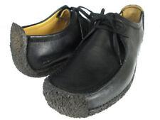 Clarks ORIGINALS Mens Natalie Black Leather Shoes / Size 9.5 UK / BNWT