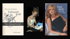 TRACI LORDS Autographed Signed Book