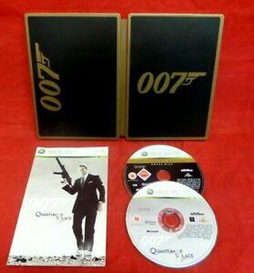 007 QUANTUM OF SOLACE COLLECTORS EDITION STEELBOOK - NO SLIPCASE - XBOX 360 - UK