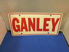 GANLEY Dealer License Plate Frame Inserts Plastic