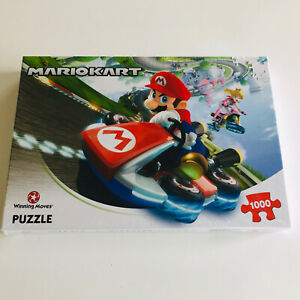 Winning Moves Mario Kart Jigsaw Puzzle - 1000 Pieces