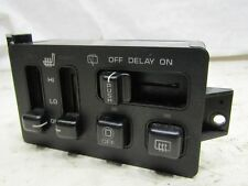 Jeep Grand Cherokee ZJ ZG 93-99 screen and heated seat control switches buttons